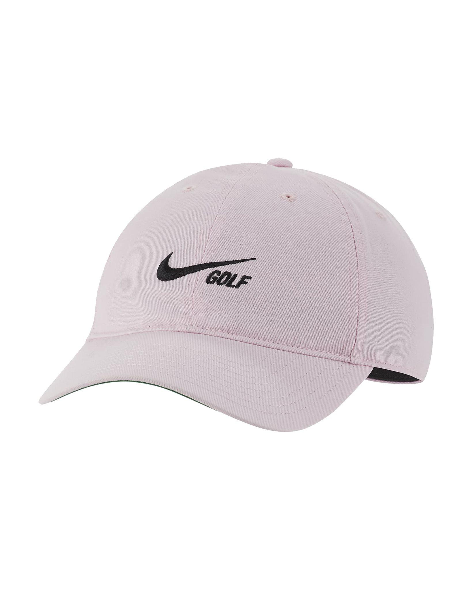 Nike golfpet Heritage86 Washed Cap roze