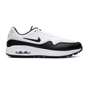 Nike dames golfschoenen Air Max 1G wit-zwart