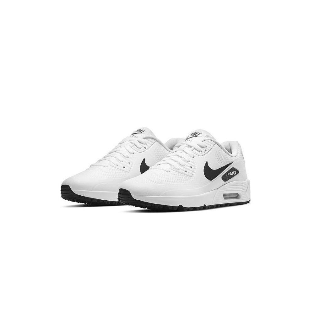 Nike unisex/dames golfschoenen Air Max 90 G wit