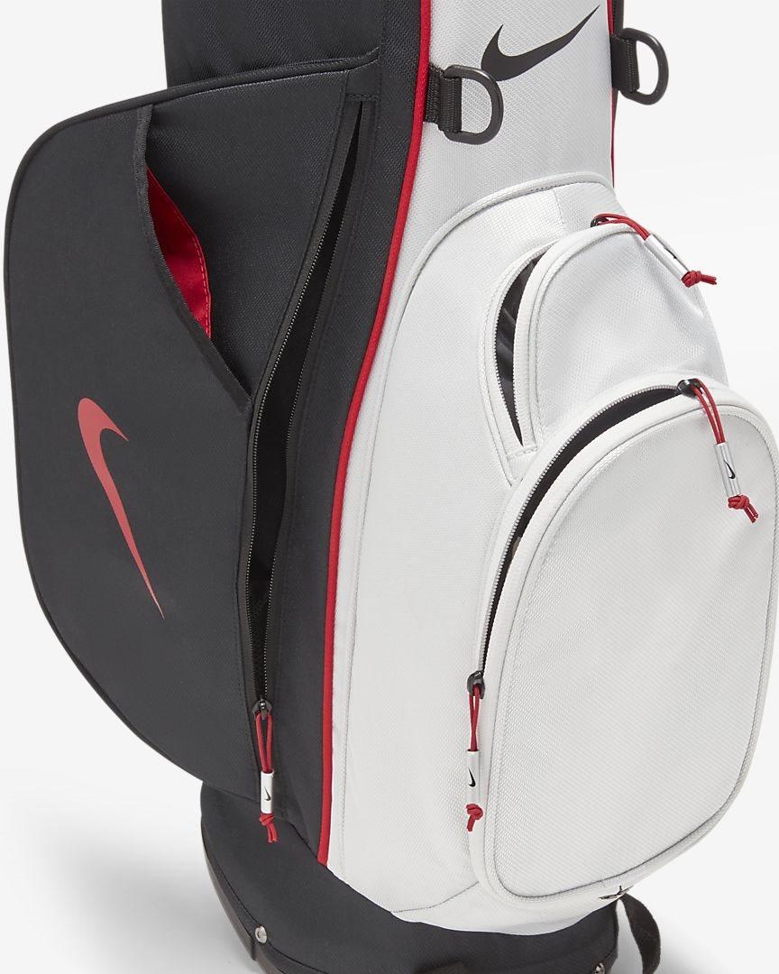 Nike golftas Sport Lite Stand Bag grijs-zwart-rood