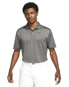 Nike heren golfpolo Dri-FIT Vapor grijs