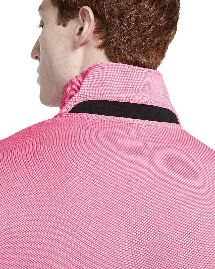 Nike heren golfpolo Dri-FIT Vapor pink