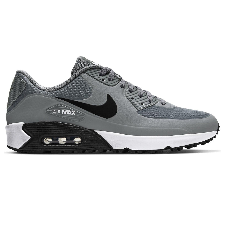 Nike heren/unisex golfschoenen Air Max 90 G grijs