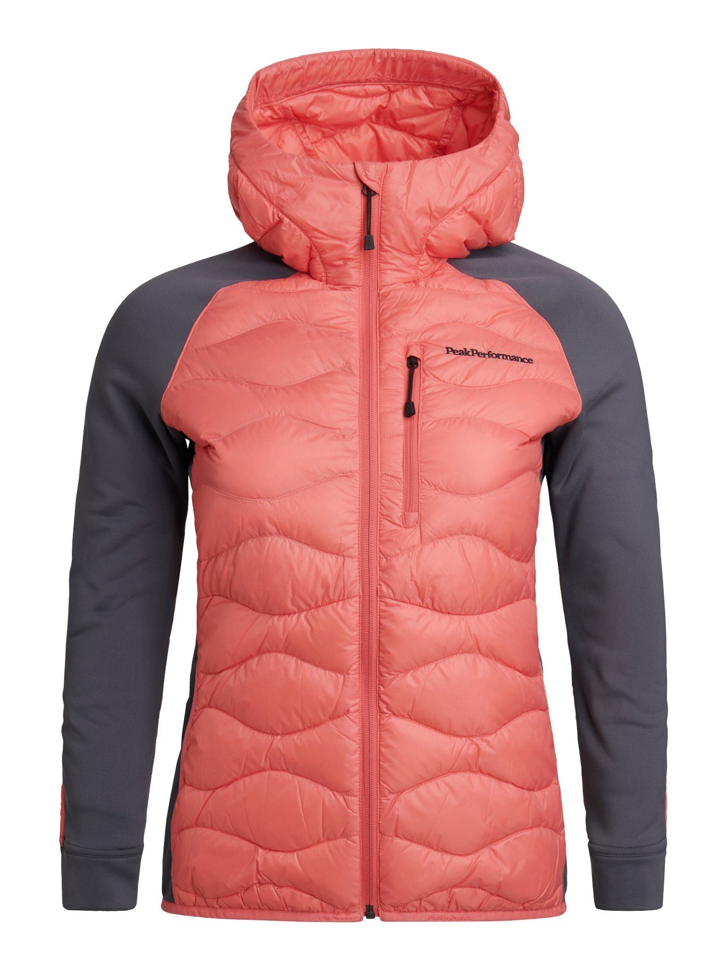 Peak Performance dames golfjack Argon Hybrid Hood alpine flower