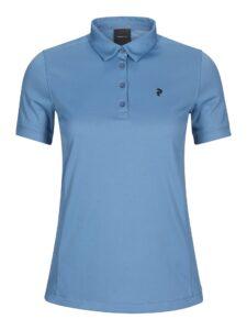 Peak Performance dames golfpolo Alta blauw