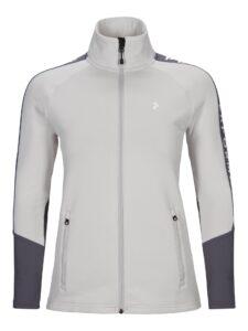 Peak Performance dames golfvest Rider wit-grijs