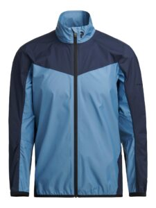 Peak Performance heren golfjack Meadow Windbreker blauw