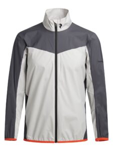 Peak Performance heren golfjack Meadow Windbreker grijs