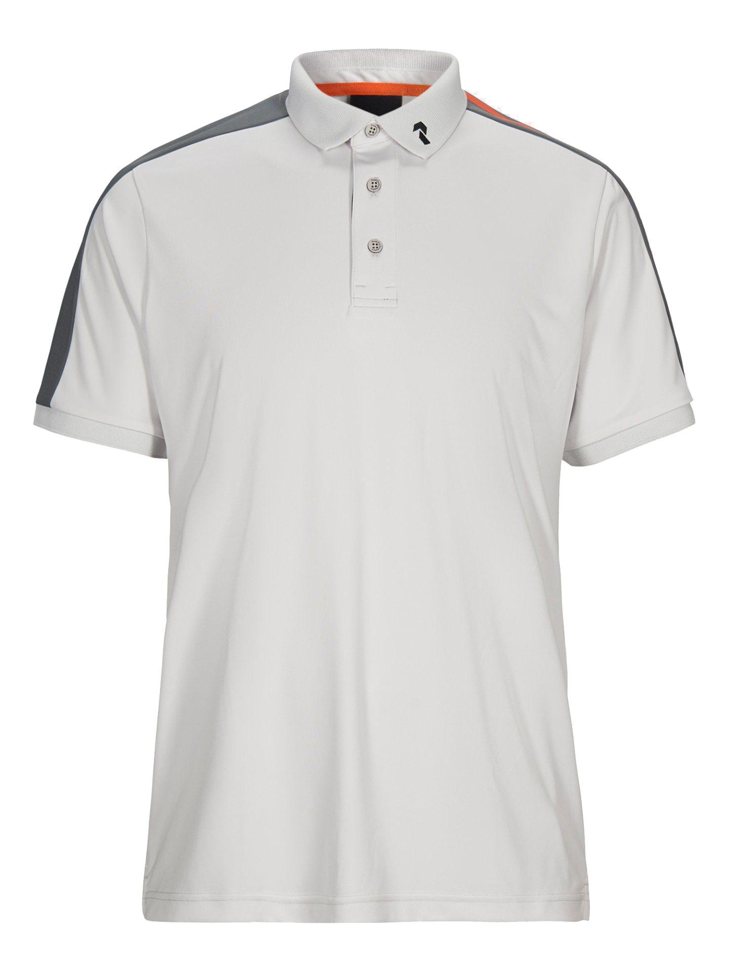 Peak Performance heren golfpolo Player gebroken wit-grijs