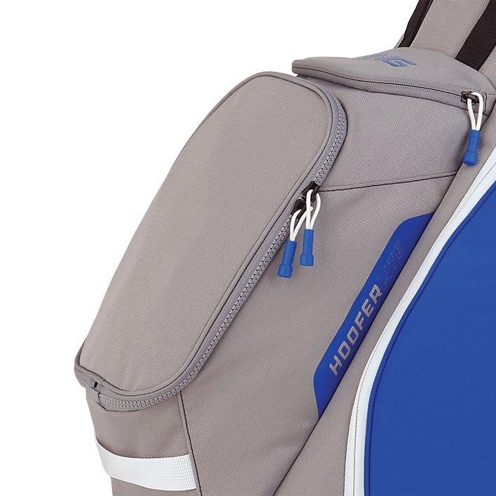 Ping golftas Hoofer Lite Stand Bag blauw-zilver-wit