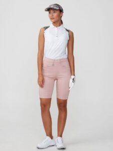 Röhnisch dames golfbermuda Smooth roze