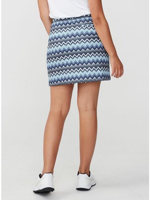Röhnisch dames golfrokje Move Zigzag blauw