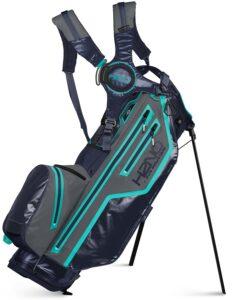 Sun Mountain golftas H2NO Lite Stand Bag 2021 navy-grijs-blauwgroen