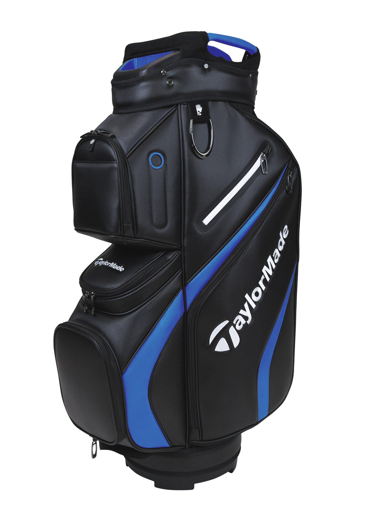 TaylorMade golftas Deluxe Cart Bag zwart-blauw