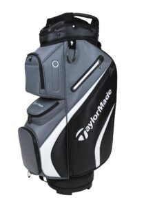 TaylorMade golftas Deluxe Cart Bag zwart-grijs