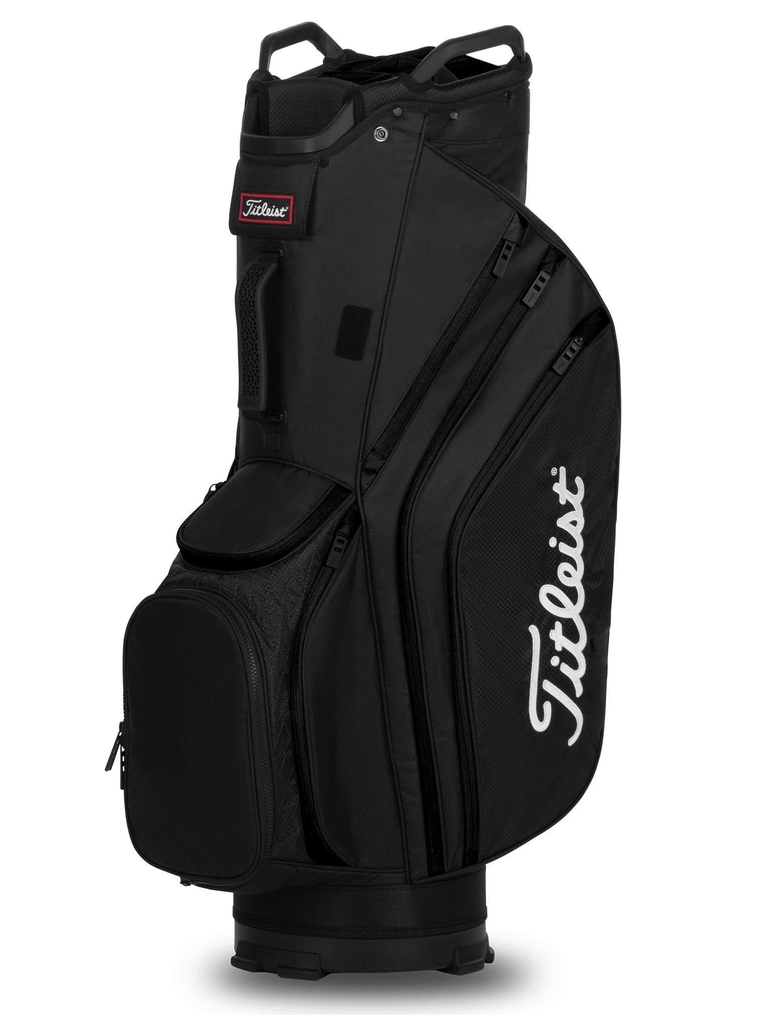 Titleist golftas 14 Lightweight Cart Bag zwart