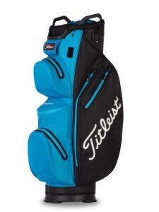 Titleist golftas 14 StaDry Cart Bag zwart-doradoblauw