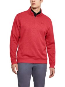 Under Armour heren golfsweater Storm rood
