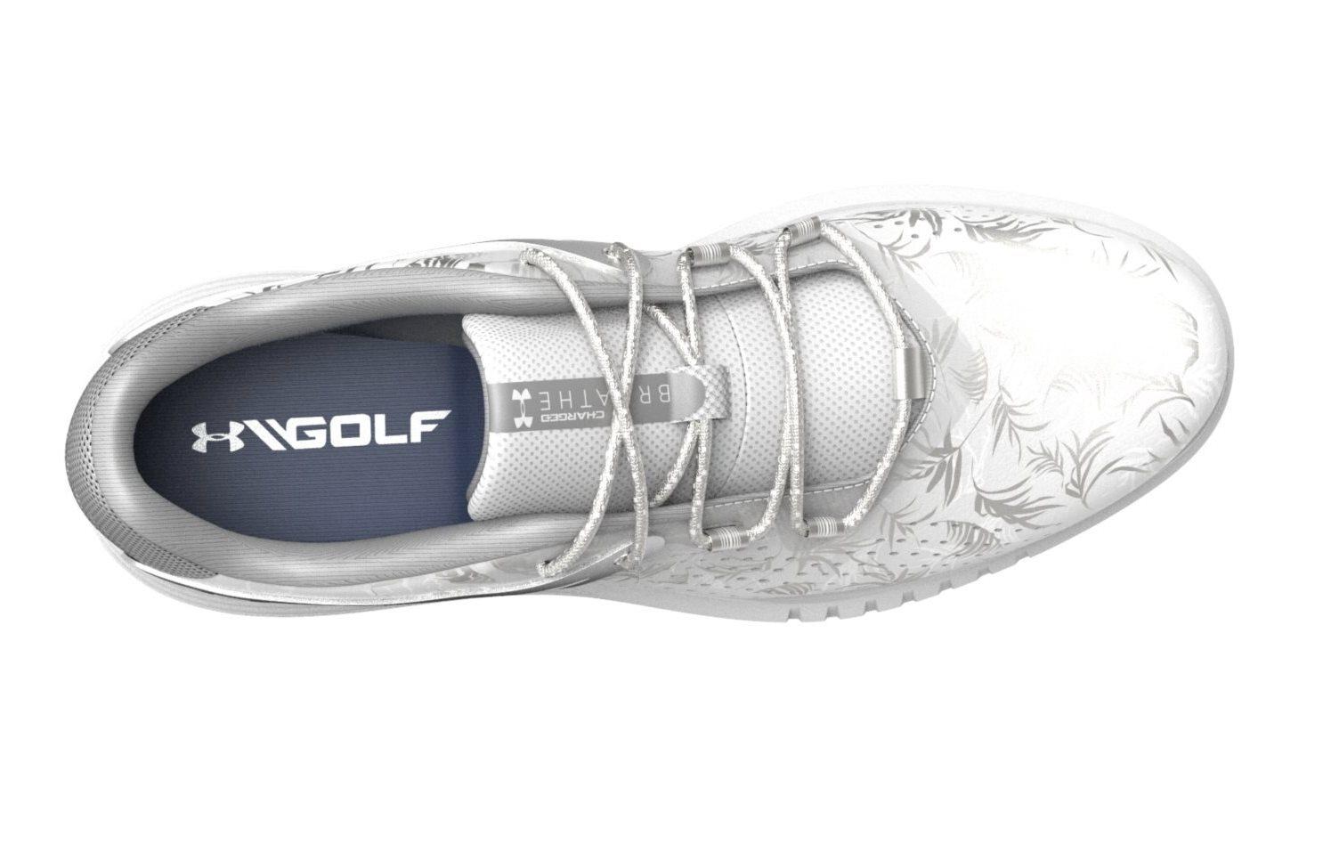 Under Armour dames golfschoenen Charged Breathe SL zilver-wit