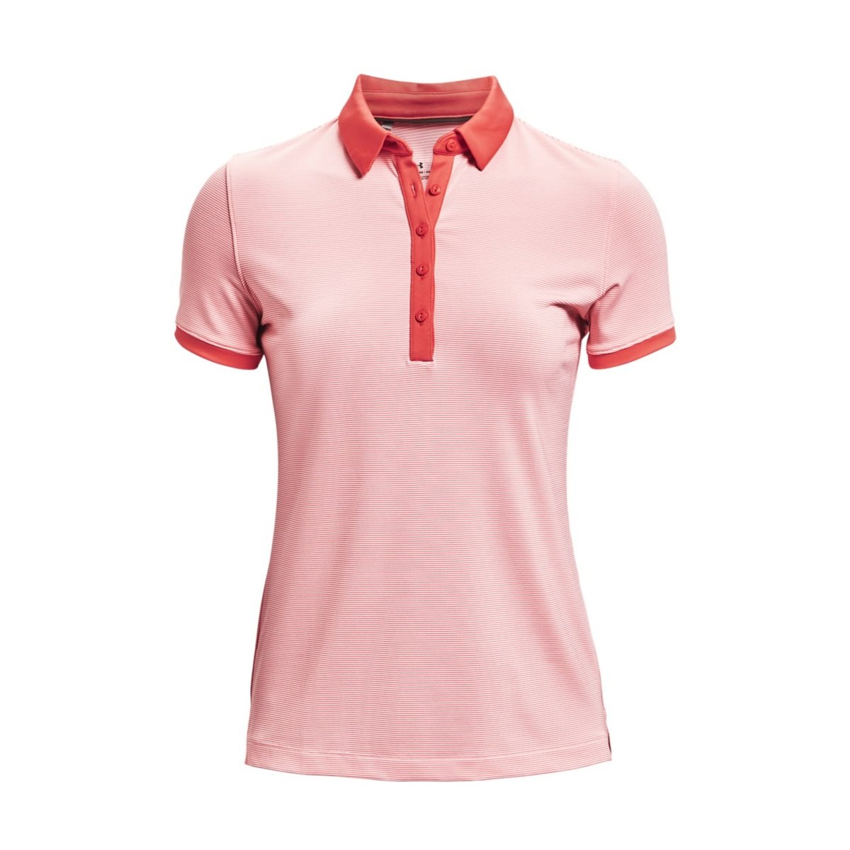 Under Armour dames golfpolo Zinger Novelty roze