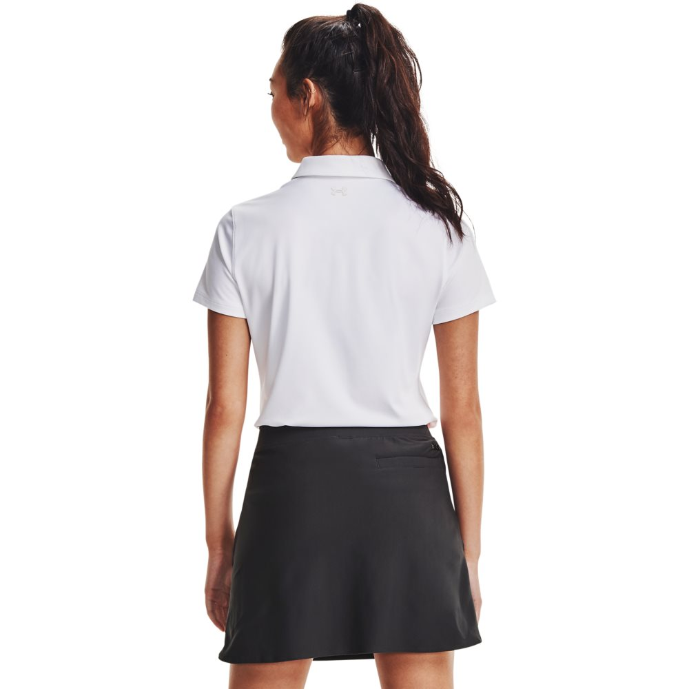 Under Armour dames golfpolo Zinger wit