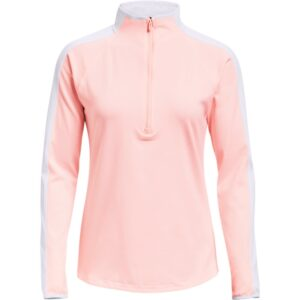 Under Armour dames golfsweater Storm Midlayer 1/2 rits roze