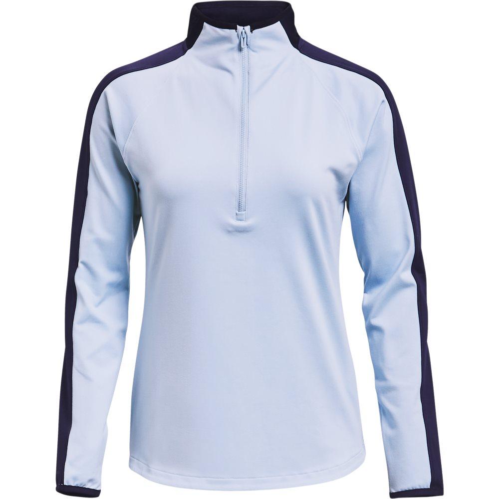 Under Armour dames golfsweater Storm Midlayer 1/2 rits blauw