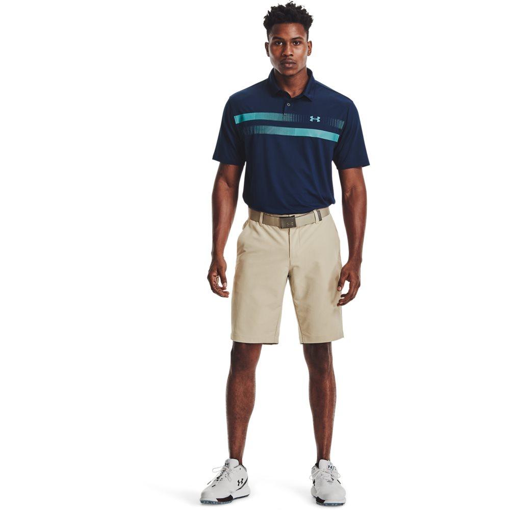 Under Armour heren golfbermuda Performance Taper khaki