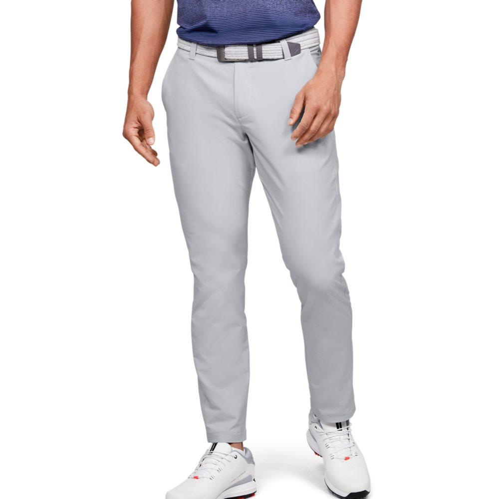 Under Armour heren golfpantalon Performance Slim Taper grijs