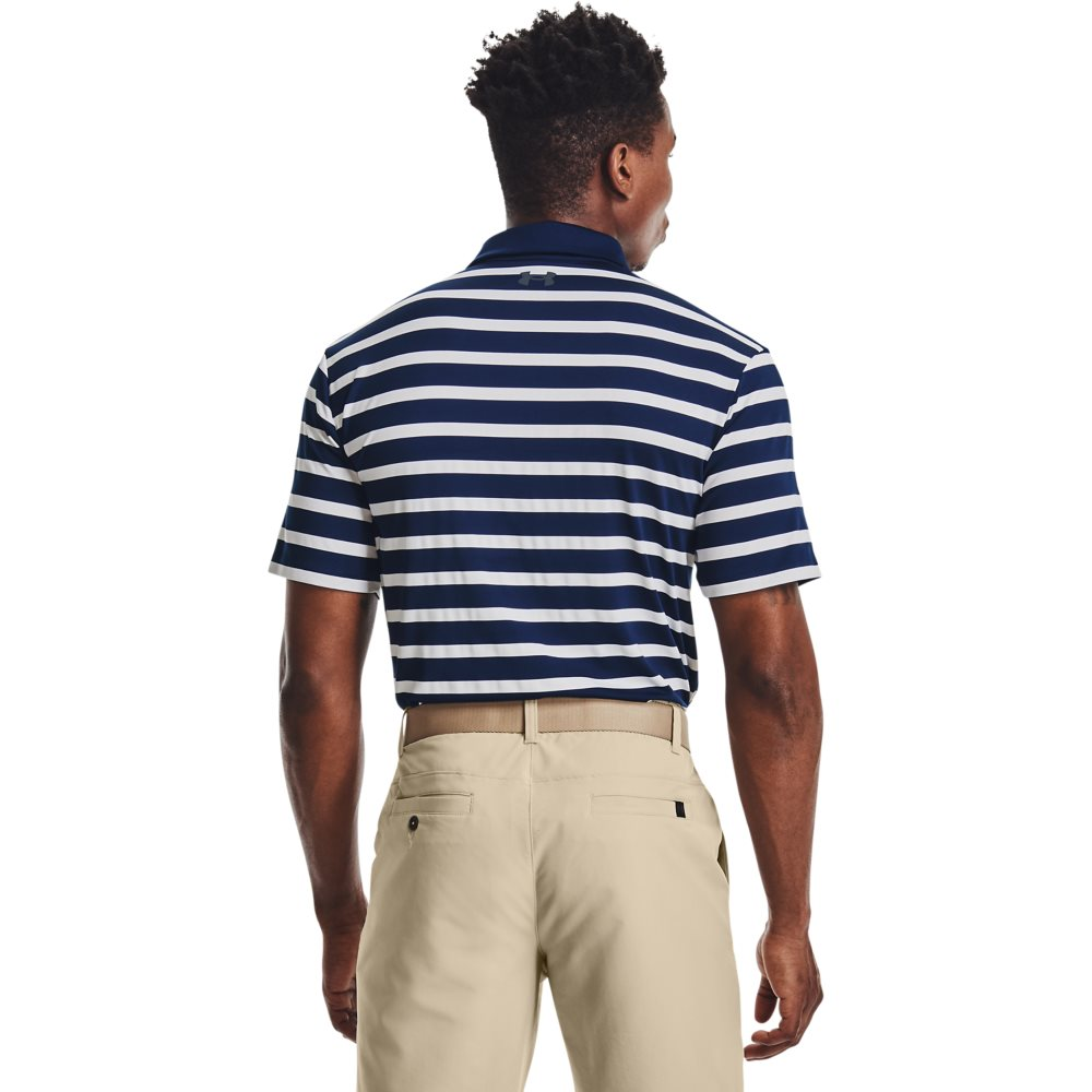 Under Armour heren golfpolo Playoff 2.0 Back 9 blauw