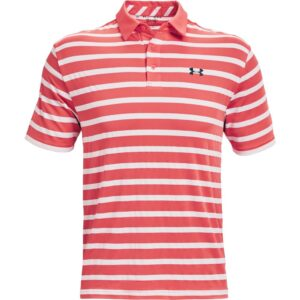 Under Armour heren golfpolo Playoff 2.0 Back 9 rood-wit