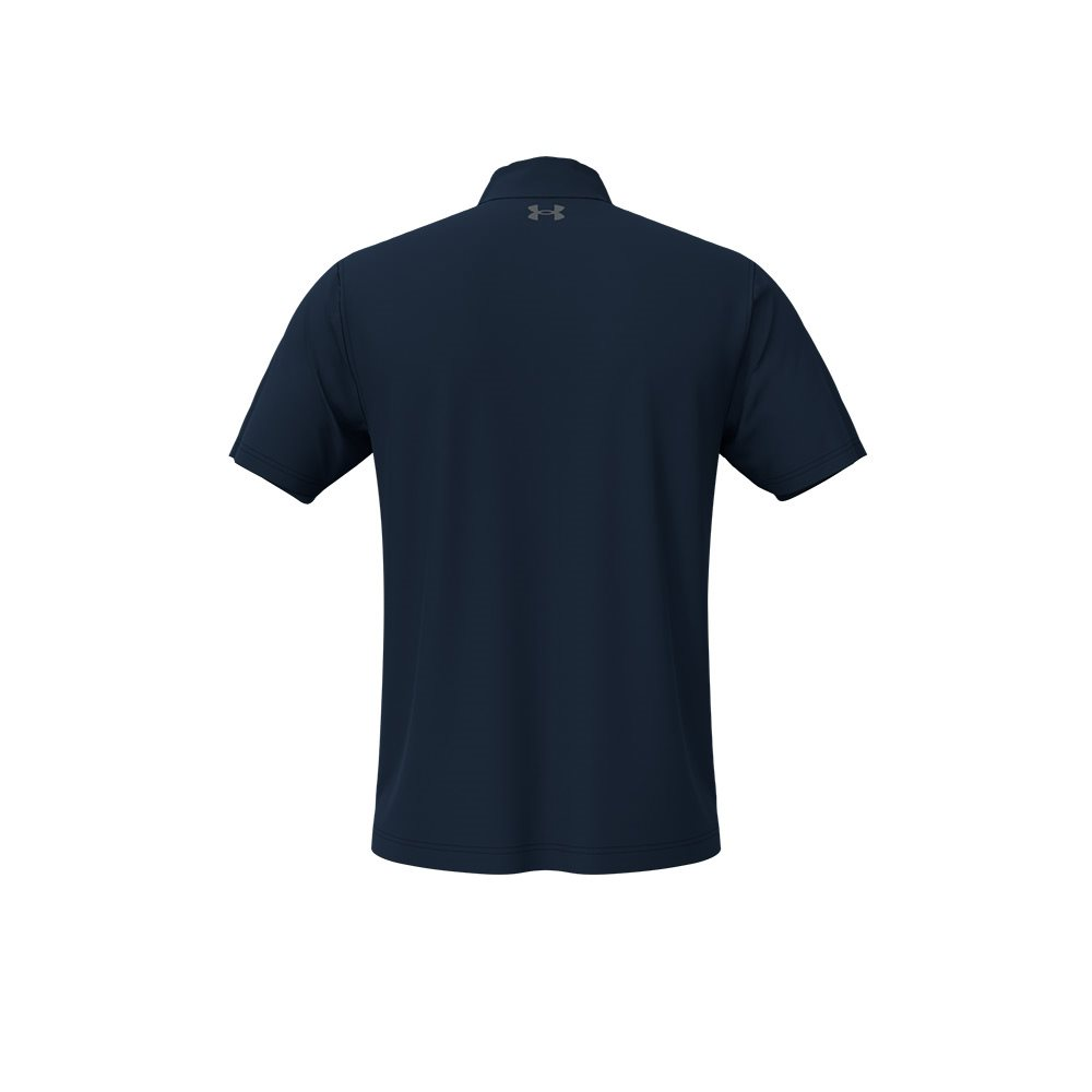 Under Armour heren golfpolo T2G donkerblauw