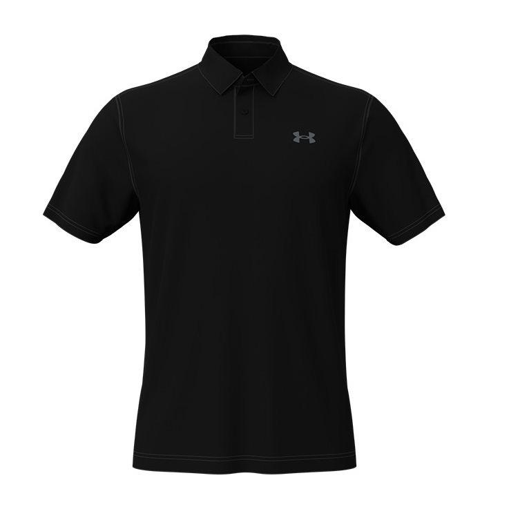 Under Armour heren golfpolo T2G zwart