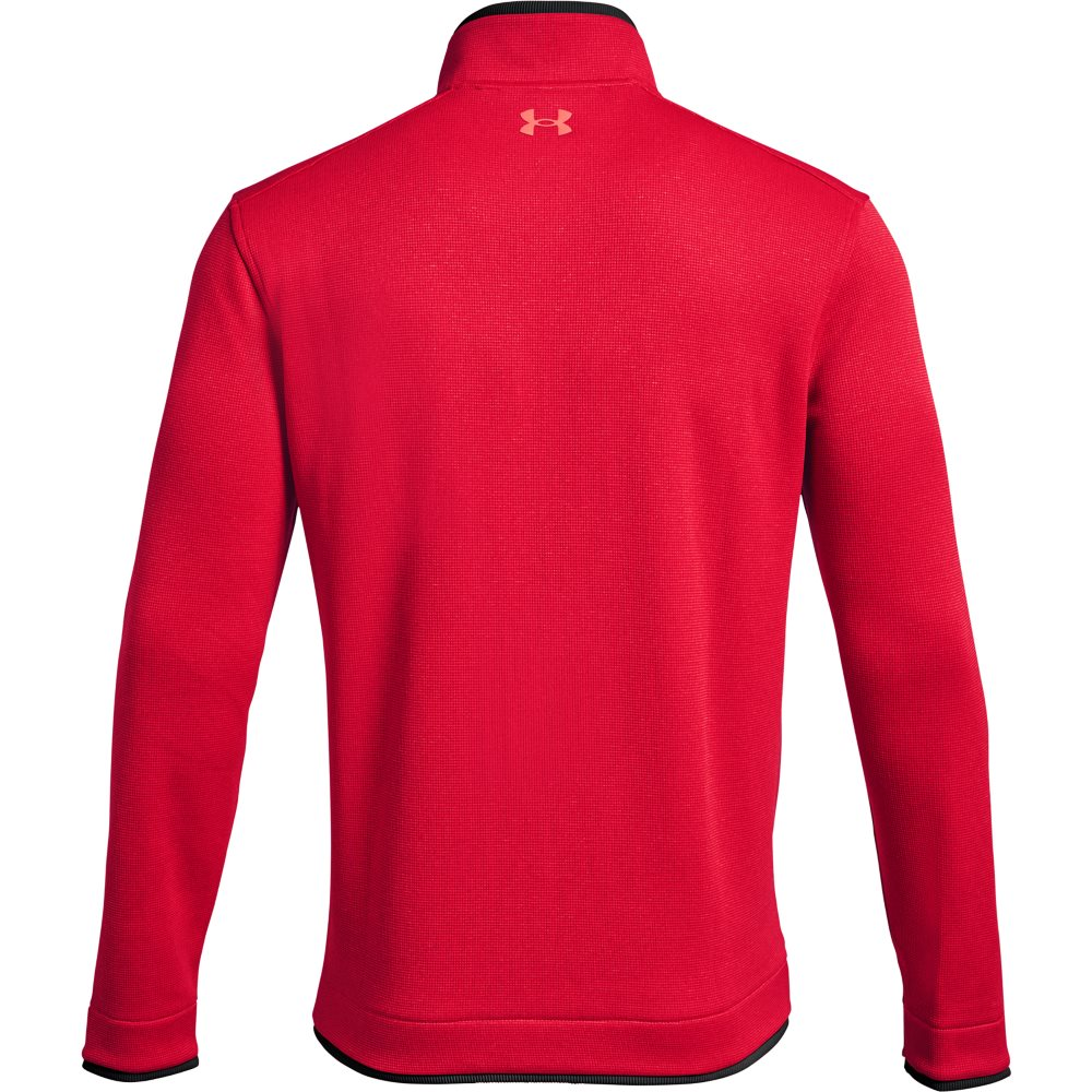 Under Armour heren golfsweater Storm SF 1/2 rits rood