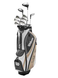 Wilson Staff dames golfset Luxe graphite shaft