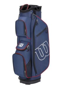 Wilson Staff golftas Prostaff Cart Bag navy-rood