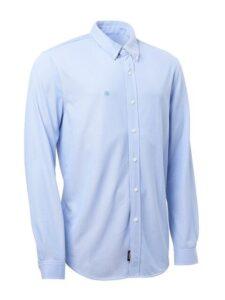 Abacus heren golfoverhemd Wade stretch lichtblauw