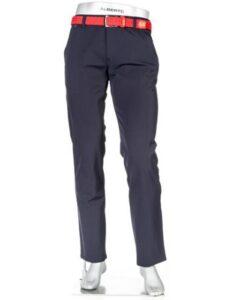 Alberto heren golfpantalon modern fit Pro 3xDry Cooler donkerblauw