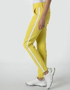 Alberto dames golfpantalon Lucy IBB 3xDry Cooler geel