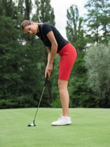 Alberto dames golfpolo Mia Dry Comfort zwart