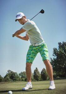 Alberto heren golfbermuda Earnie groen