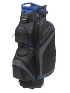 BagBoy golftas DG-Lite II TL Cart Bag zwart-grijs-blauw