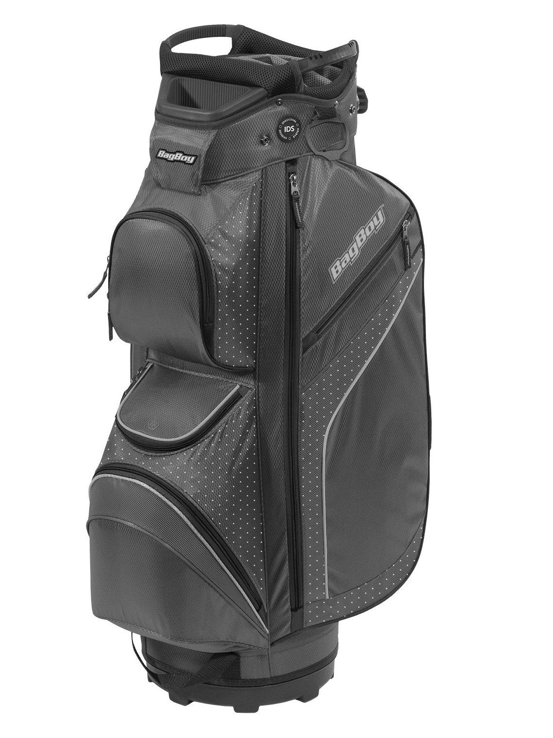BagBoy golftas DG-Lite II TL Cart Bag grijs-zwart-witte stippen