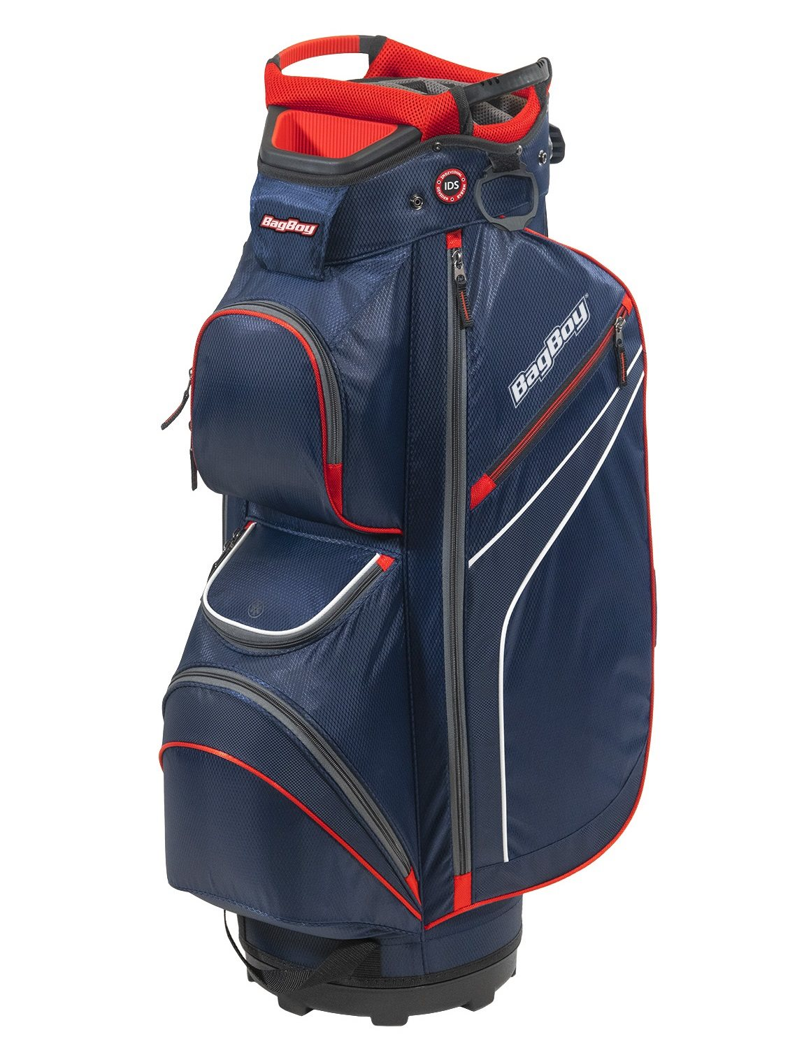 BagBoy golftas DG-Lite II TL Cart Bag navy-wit-rood