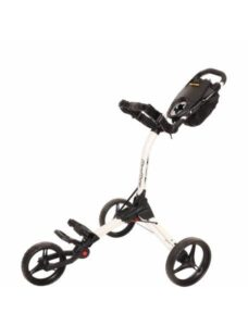 BagBoy golftrolley Compact 3 wit-zwart