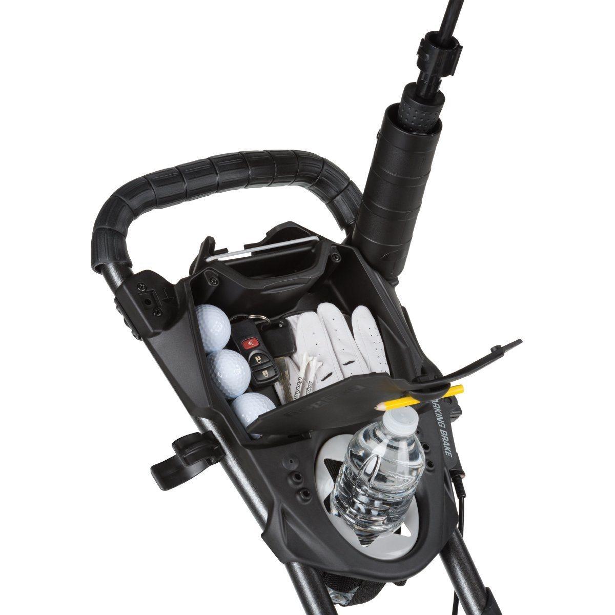 BagBoy golftrolley Compact 3 zilver-zwart