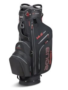 Big Max golftas AQUA Sport 3 Cart Bag zwart