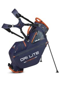 Big Max golftas DRI LITE Hybrid Tour Stand Bag blauw-zwart-bruin