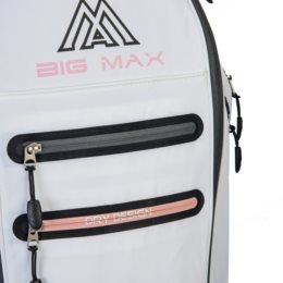 Big Max golftas DRI LITE Style 360 Cart Bag blauw-zand