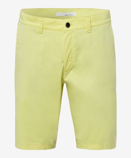 Brax heren golfbermuda Player Ultralight lime